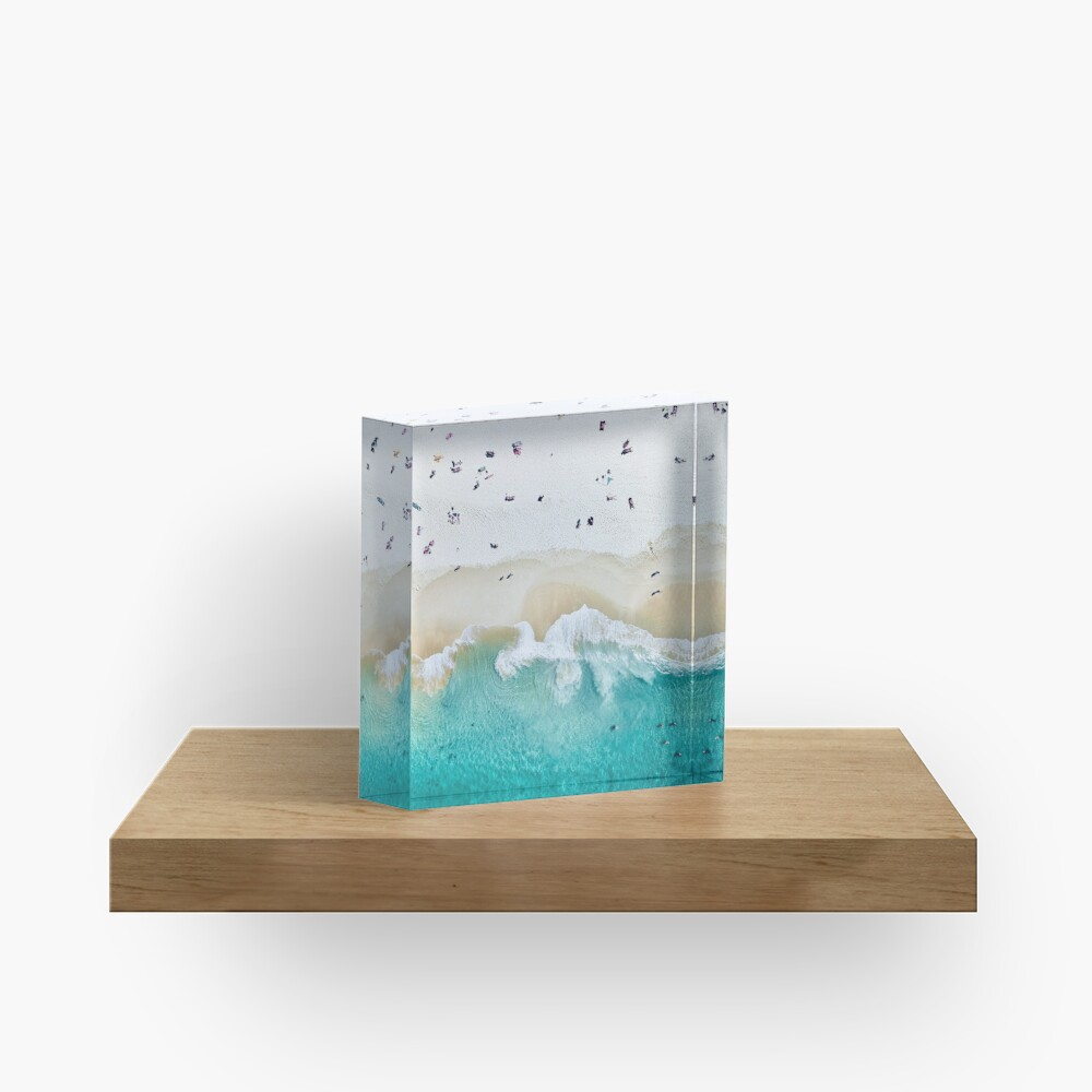 Summer Vibes  Acrylic Block