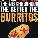 Dangerous Neighborhood Better Burritos by MNK78