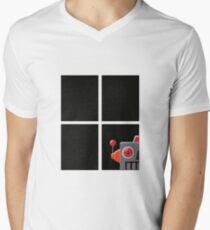 Peeping Tin Tom Mens V-Neck T-Shirt