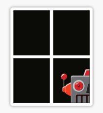 Peeping Tin Tom Sticker