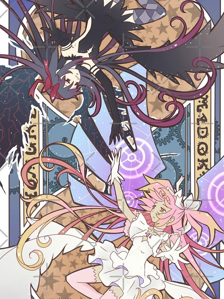 Madoka und Homura von SpukyCat