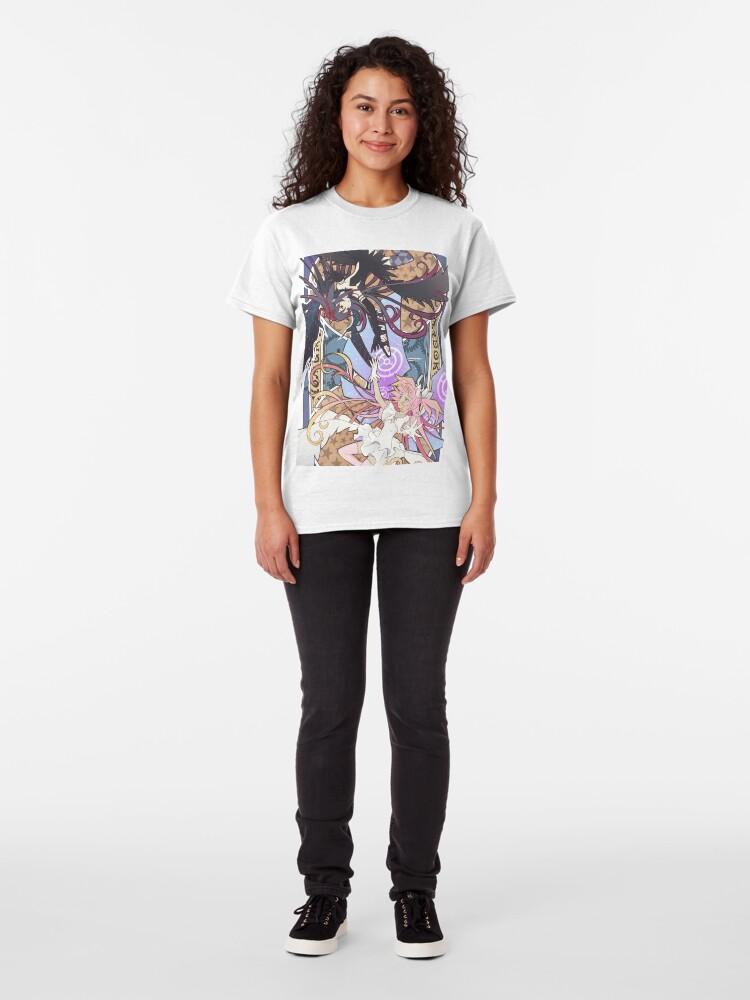 Alternative Ansicht von Madoka und Homura Classic T-Shirt