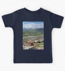 a vast Albania landscape Kids Clothes