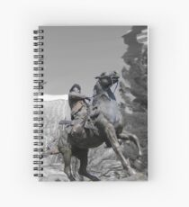 Pancho Villa rides through Tucson Spiral Notebook