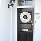 Christmas Door Wreath #1 by skyhorse