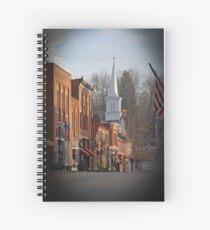 Jonesborough, TN downtown Spiral Notebook