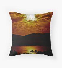 Rays of the Sun Throw Pillow