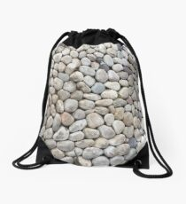 Stones rounded in shape Drawstring Bag