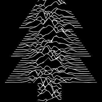 Joy To The World - Joy Division / Unknown Pleasures Christmas by ashburg