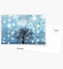 Snow Fills The Air Postcards