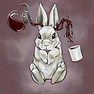 Coffee Bunny by Jenny Fontana