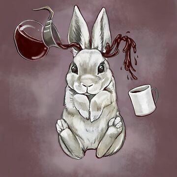 Coffee Bunny by jennyfontana