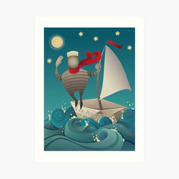 Going Sailing Art Print