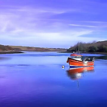 Whiterock Bay, Ireland. (Painting.) by cmphotographs
