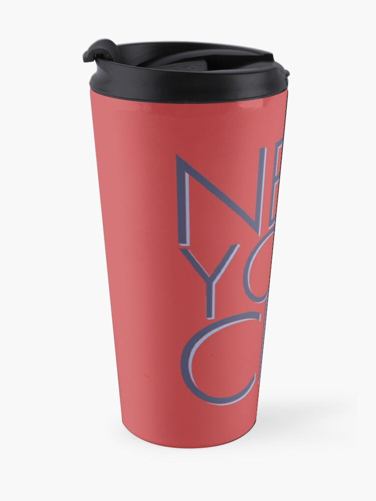 Alternate view of NEW YORK CITY Travel Mug