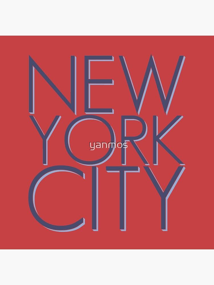 NEW YORK CITY by yanmos