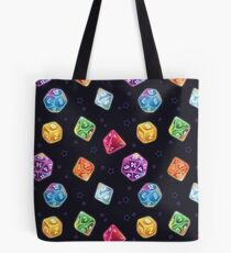 Magic User Dice Tote Bag
