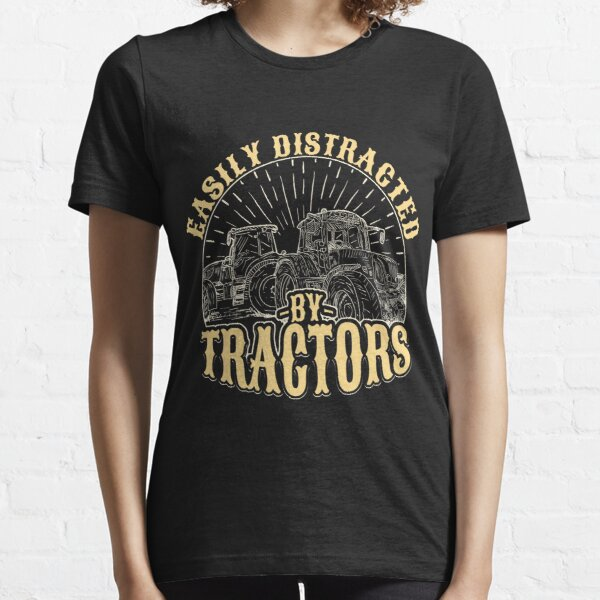 Easily distracted by tractors Essential T-Shirt