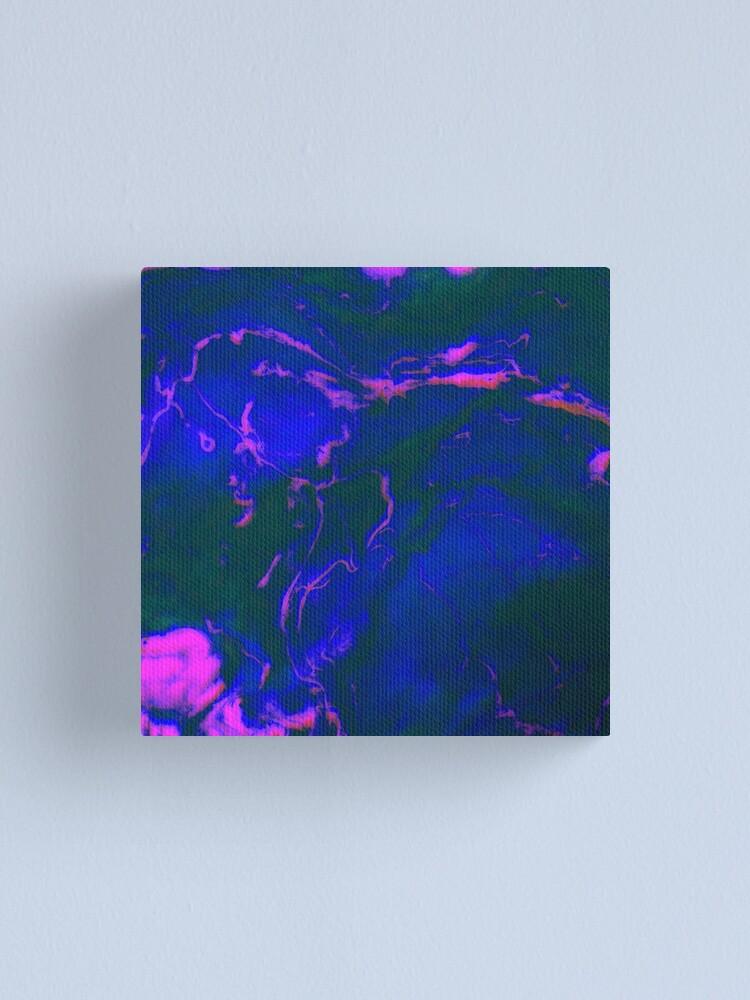 Alternate view of Neon Nightriders Canvas Print