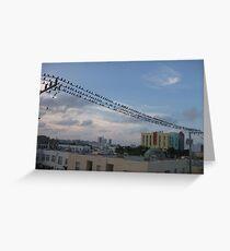 Bird Stadium Greeting Card