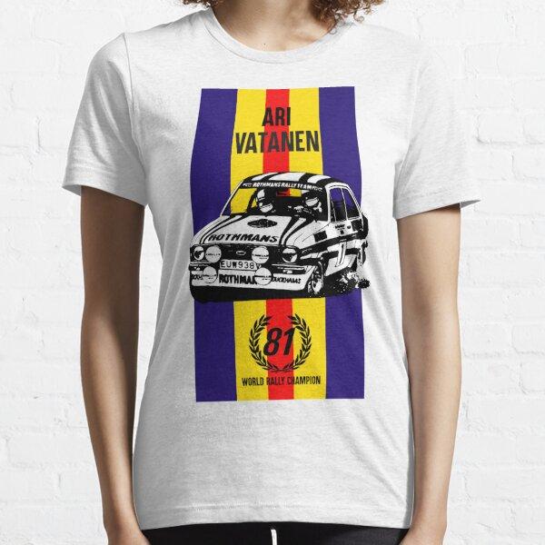 Vatanen 1981 World champion Essential T-Shirt