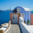 Santorini  by Jacinthe Brault