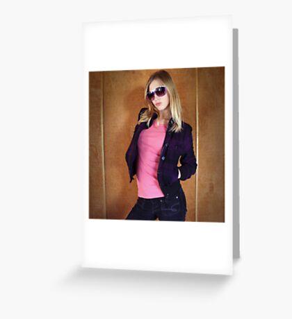 Stunna shades Greeting Card