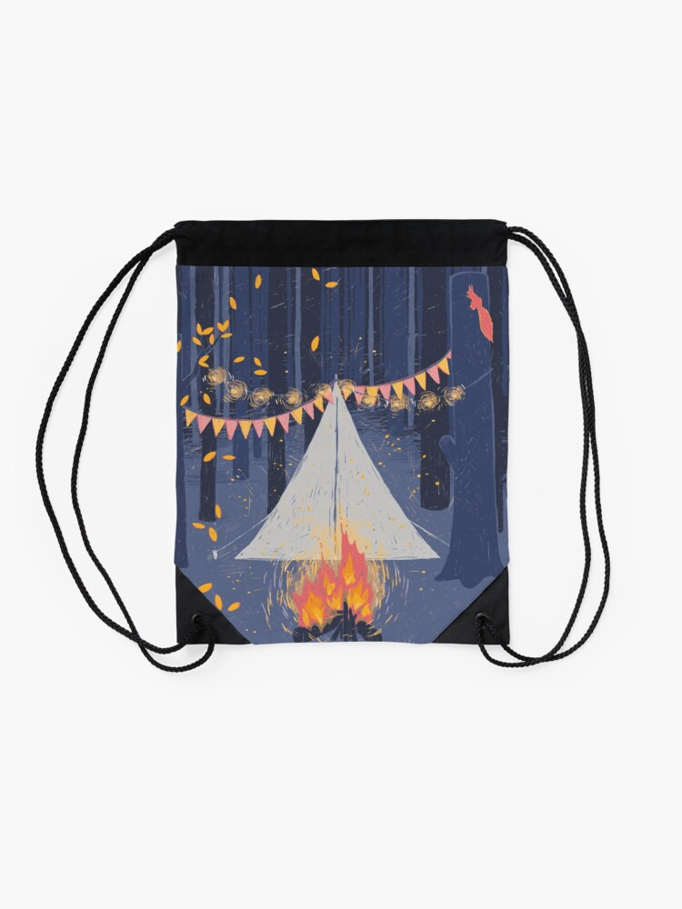 Alternate view of Camp Drawstring Bag