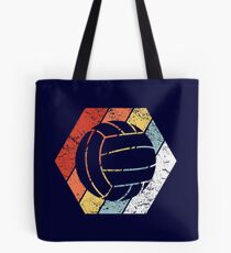 Vintage Volleyball Shirt Funny Volleyball Retro 80s Style Tote Bag