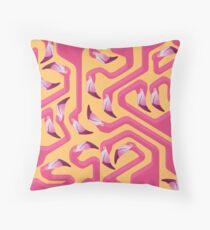Flamingo Maze Floor Pillow