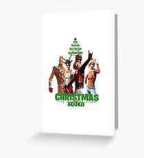 Crackshot...Christmas Squad Greeting Card