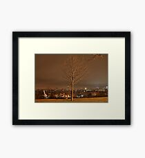 A Charlie Brown Christmas Tree. Framed Print