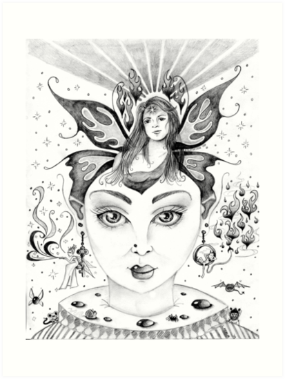 Waking Dream (Exquisite Corpse I) by Lynsye Medalia
