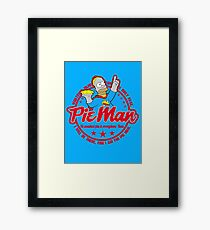 The pie man Framed Print