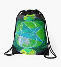 Layered Drawstring Bag