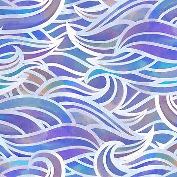 Pastel waves by Elenanaylor