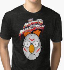 muppets beaker mashup friday the 13th Tri-blend T-Shirt