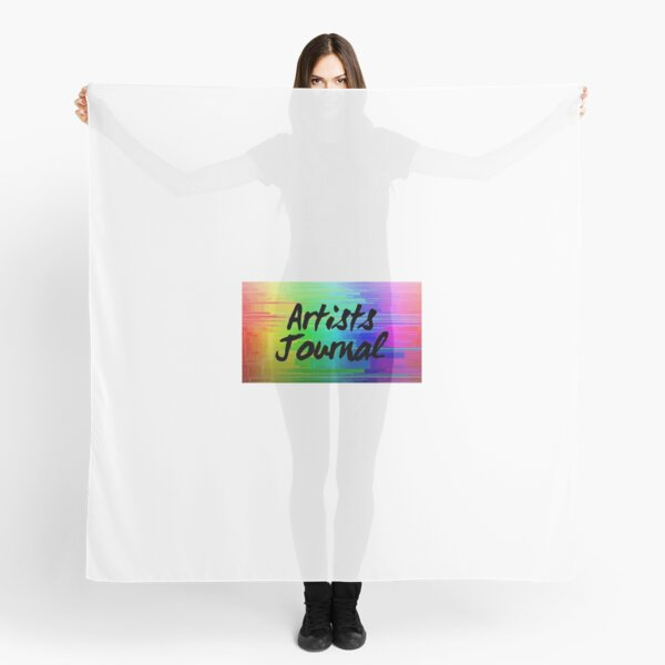 artists journal - writing diary for creative types Scarf