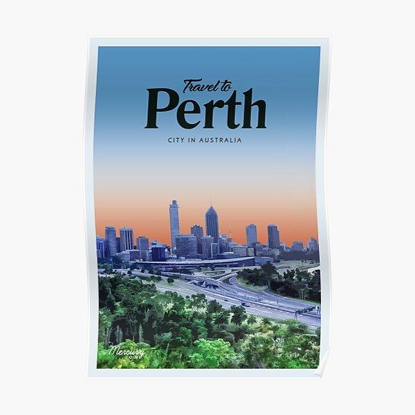 Visit Perth  Poster