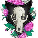 Fox Skull by Waywardstudios