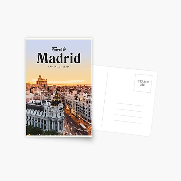 Madrid  Postcard