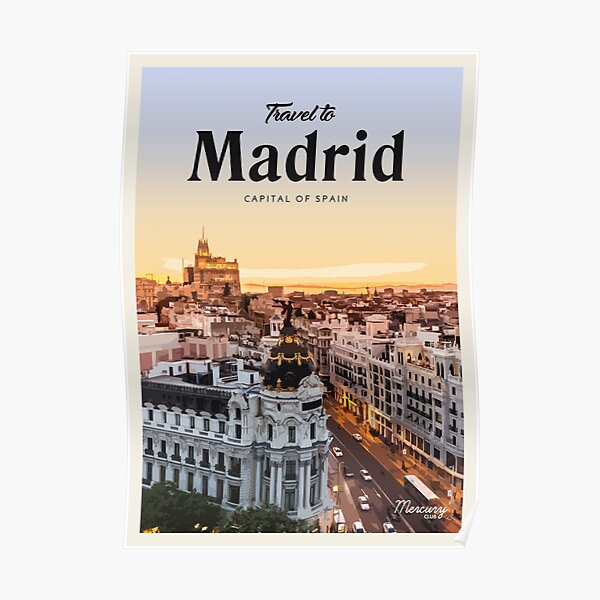 Madrid Póster