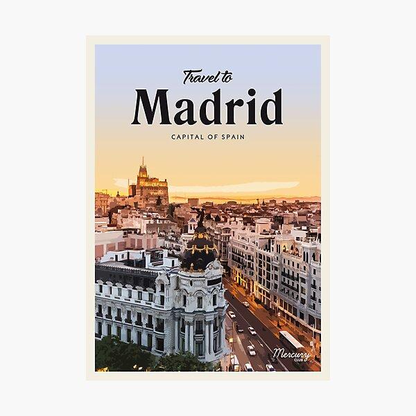 Madrid  Photographic Print