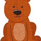 Cute Little Bear by CheriesArt