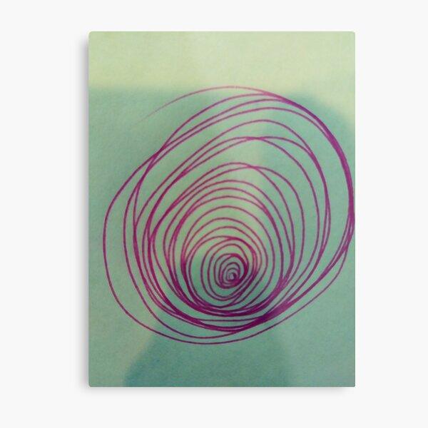 #Spiral, #Circle, #2Dshape, Euler's Identity, Math, Mathematics, Science, formula, equation, #Euler's #Identity, #Math, #Mathematics, #Science, #formula, #equation, #EulersIdentity   Metal Print