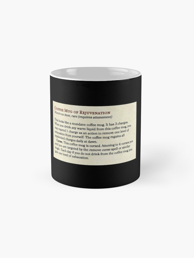 Alternate view of Coffee Mug of Rejuvenation (Fifth Edition Compatible) Mug