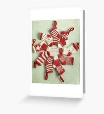 Christmas stockings Greeting Card
