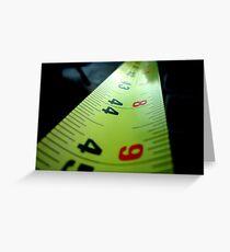 Measuring Tape Greeting Card