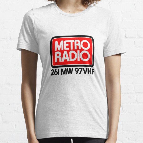 Local Radio: Metro Radio Tyne & Wear (70s) Essential T-Shirt
