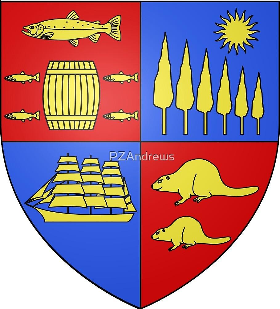 Coat of Arms of Saint John, New Brunswick by PZAndrews